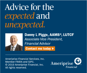 Danny Pigge, Ameriprise Financial Advisors - (336) 819-5706