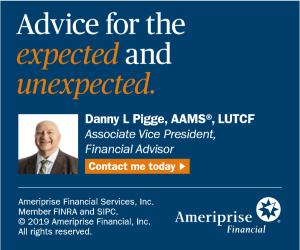 Danny Pigge, Ameriprise Financial Advisors - (336) 819-5706