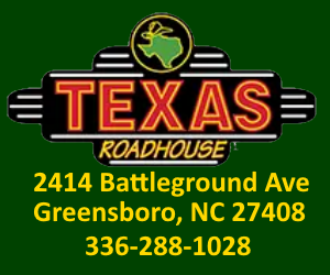 Texas Roadhouse, 2414 Batteleground Ave, Greensboro, NC 27408